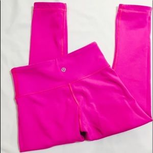 Lululemon size2 reversible pants hot pink & blue
